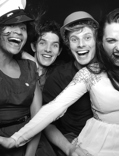 Merlin's Cast @ Wrap Party