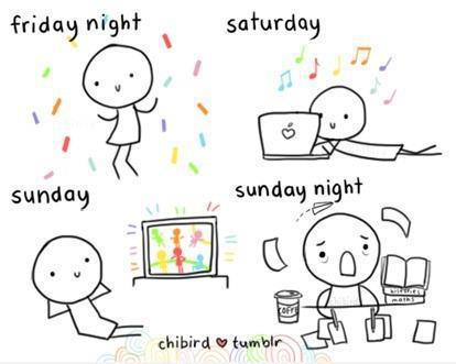My weekends.