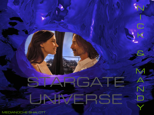 Stargate Universe wallpaper titled NICK & MANDY