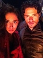 Oona Chaplin & Richard Madden - game-of-thrones photo