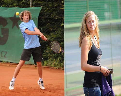 Pavlasek (14) and Kvitova (19) in 2009