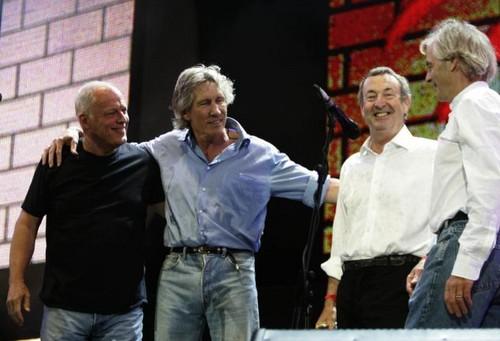 rosado, rosa Floyd Reunion 2005