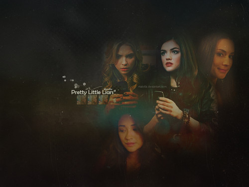 Pretty Little Liars Hintergrund titled PrettyLittleLiars!