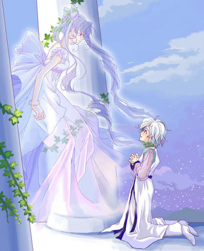 Princess Small Lady Serenity and Helios