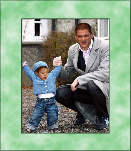 Prison Break - Michael and his son MJ