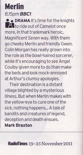 Radio Times - Merlin 4.08