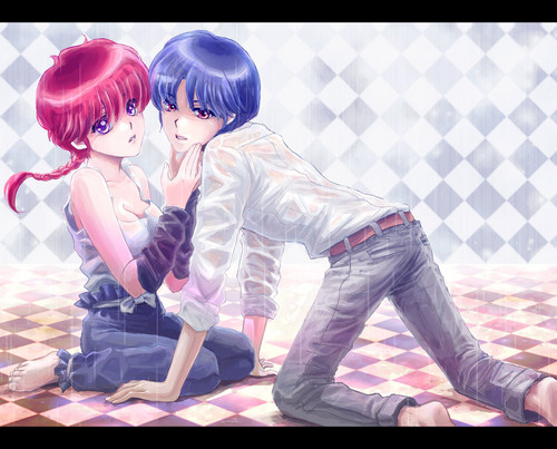 Ranma + Akane _ anime couple
