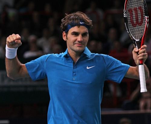 Roger Federer face