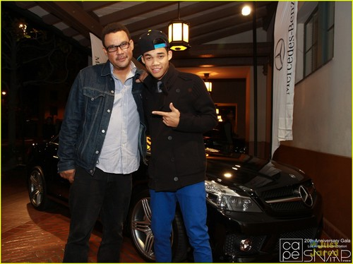 Roshon Fegan CAPE Gala on Saturday (November 12) in Los Angeles