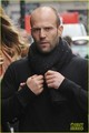 Rosie Huntington-Whiteley: Soho Stroll With Jason Statham! - jason-statham photo