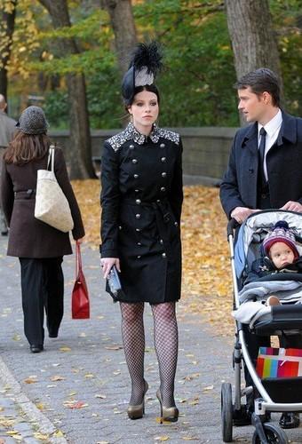 Season 5 Set foto's - November 13th