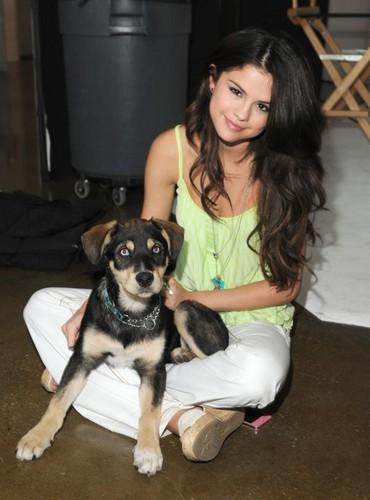 Selena Gomez and Baylor