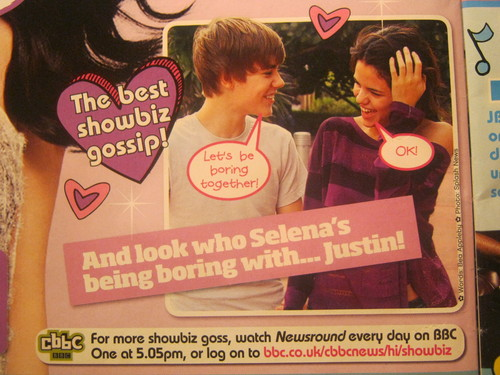 Selena and Justin... remembering the past