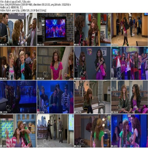 Shake It Up Start It Up Colage