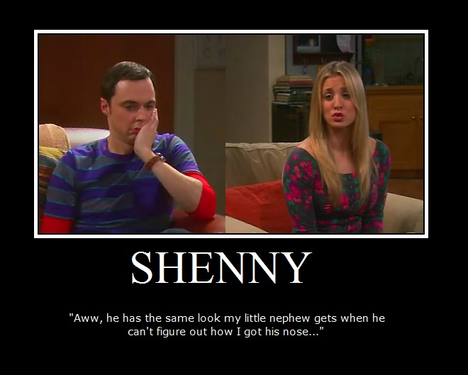 The big bang theory shenny gt w