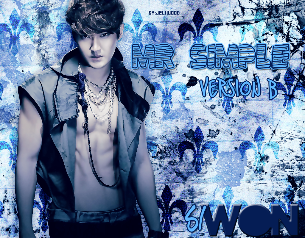 Si Won images Siwon Mr. Simple Version B HD wallpaper and background