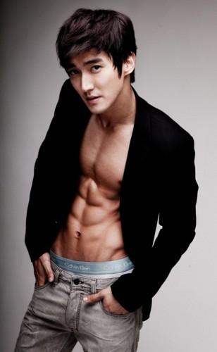 Siwon Topless