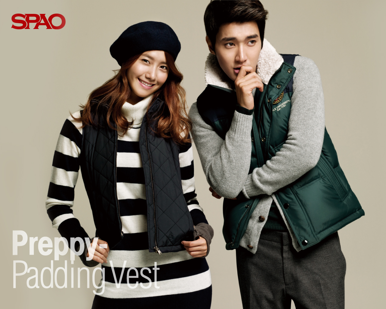 Si Won images Siwon amp; Yoona SPAO HD wallpaper and background photos