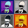 Slender man stamps - the-slender-man fan art