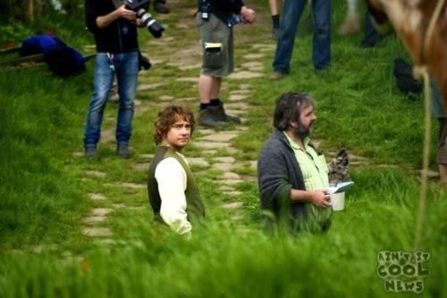 The Hobbit shooting