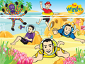 The Wiggles Beach - the-wiggles wallpaper