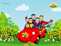 the-wiggles - The Wiggles Big Red Car wallpaper