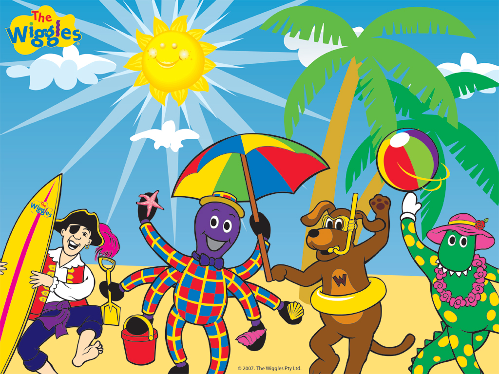 The Wiggles Images The Wiggles Friends On The Beach