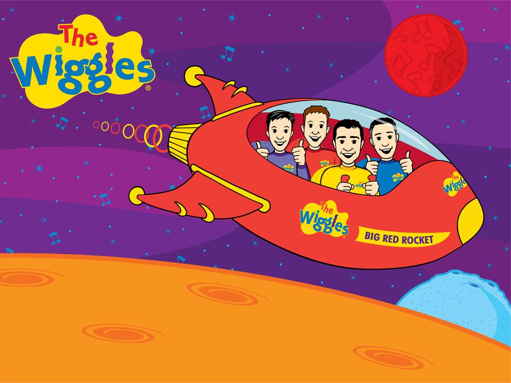 The Wiggles IN Out Of el espacio