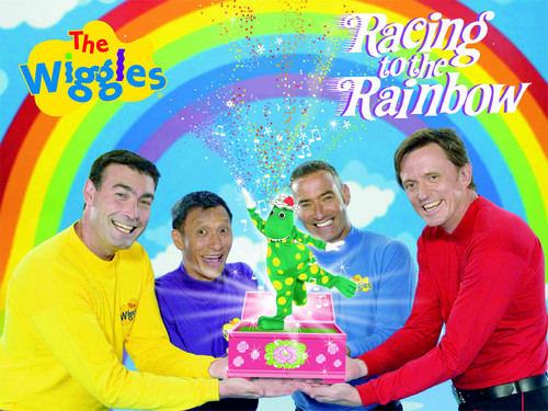The Wiggles Rasing To The cầu vồng