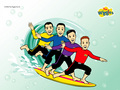 the-wiggles - The Wiggles Surfing wallpaper