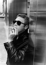Steve McQueen wallpaper containing sunglasses entitled The king of cool