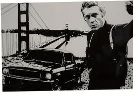 Steve McQueen 壁紙 titled The king of cool