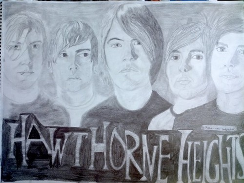 This Is My Hawthorne Heights Art Drawing! :))