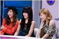 Tiffany @ Radiostar with Taeyeon & Jessica