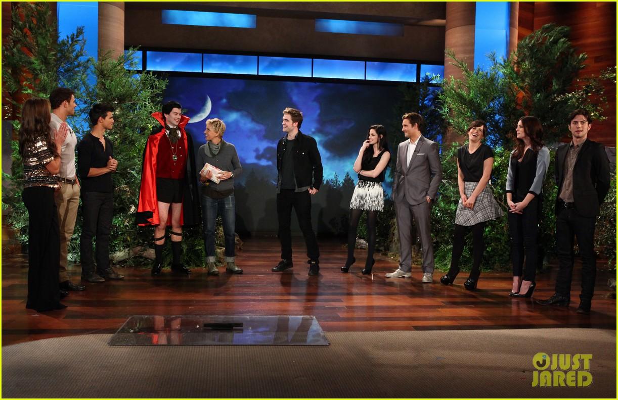 Twilight Cast: 'Breaking Dawn' on Ellen!