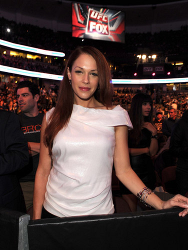 UFC On FOX: Live Heavyweight Championship - November 12, 2011 - amanda-righetti Photo