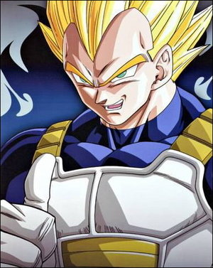 dragon ball z wallpaper probably containing anime called Vegeta