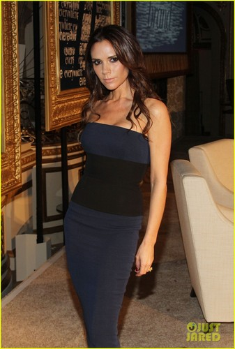 Victoria Beckham: Women's Wear Daily Conference!