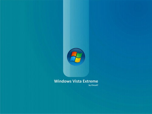 Windows 7 壁紙 entitled Vista Terquase