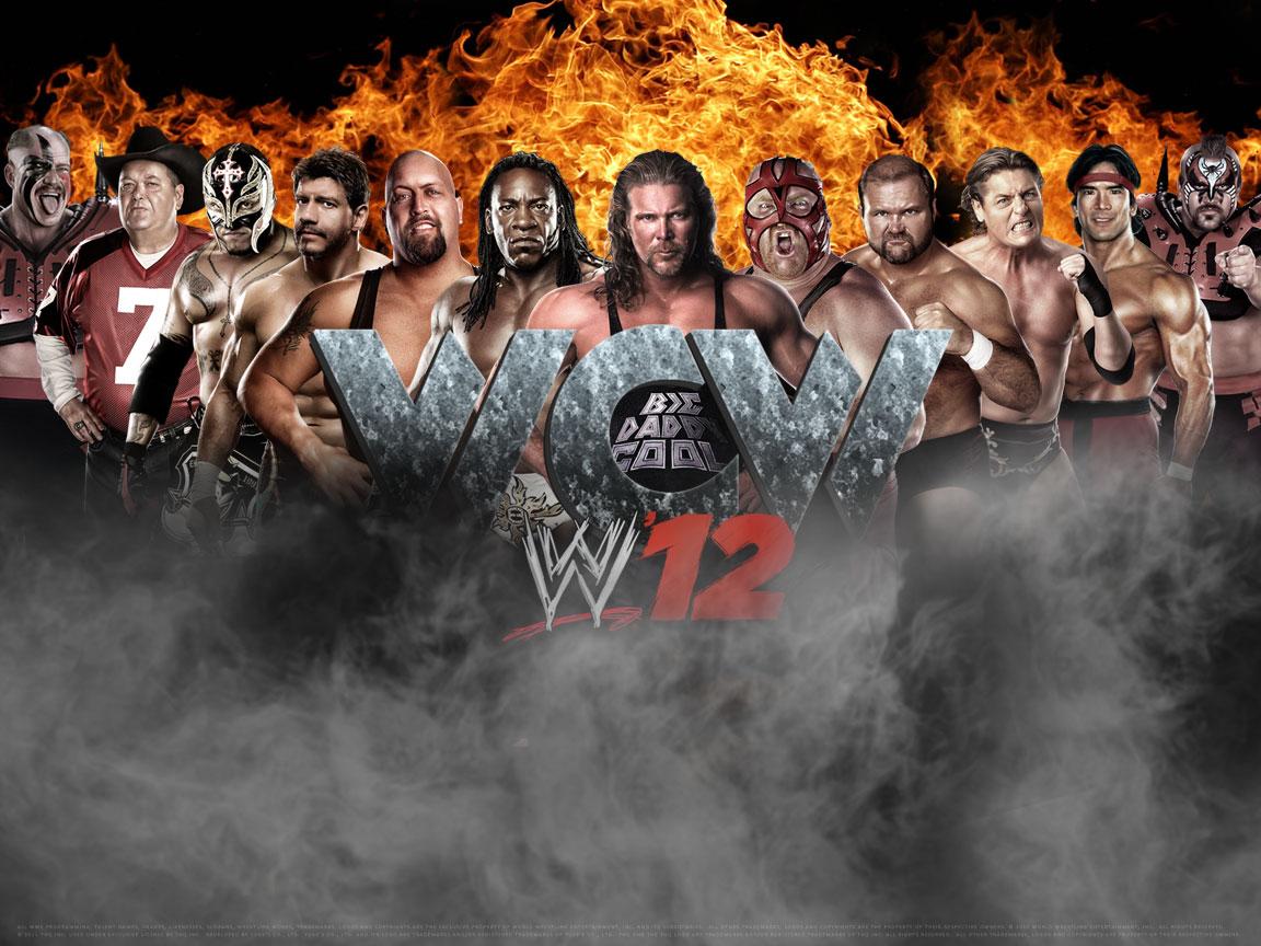Wcw Wallpaper WCW invades WWE 12 - W...