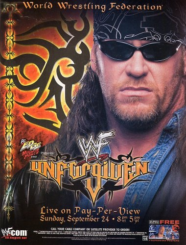WWF Attitude Era پیپر وال possibly with sunglasses and عملی حکمت entitled WWF PPV Banners Lot