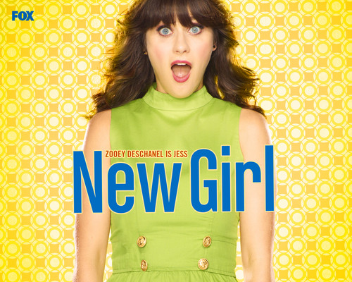 New girl wallpaper possibly containing a portrait titled wallpaper
