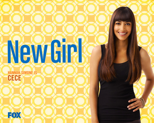 New Girl wallpaper possibly containing a cocktail dress and a portrait titled Wallpaper