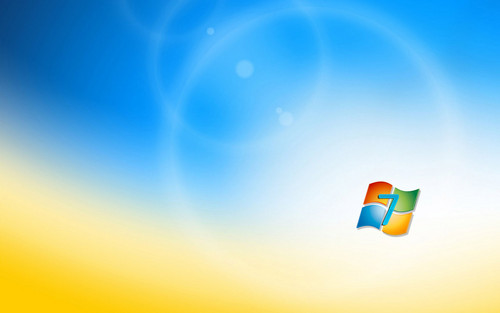 Windows 7 wallpaper titled Windows 7 Free Background