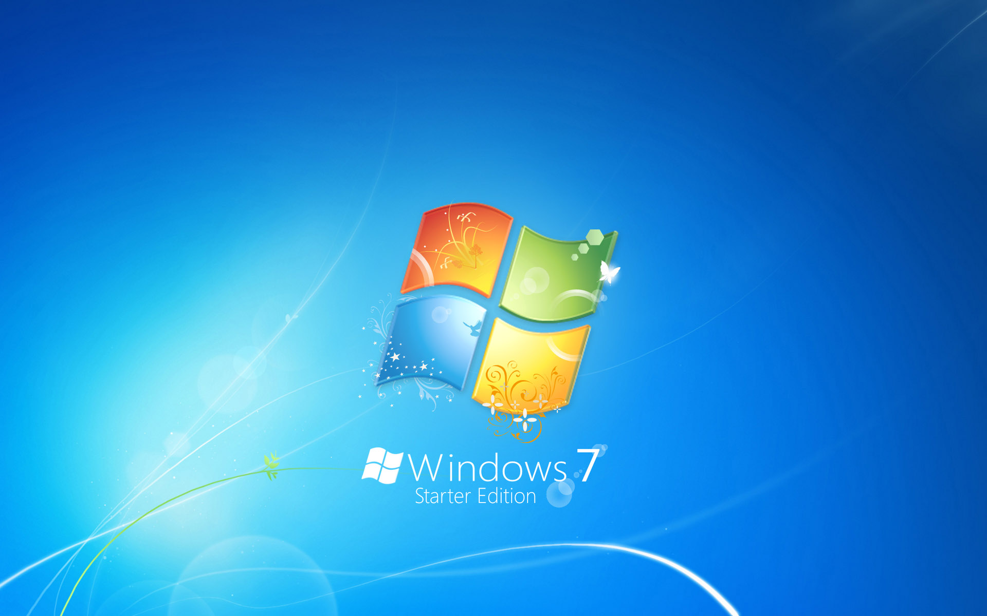Windows 7 Starter Edition - Windows 7 Wallpaper