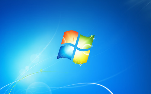 Windows 7 壁紙 entitled Windows 7