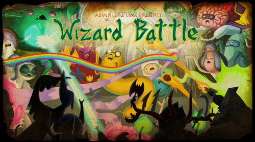 Adventure Time With Finn and Jake images Wizard Battle HD wallpaper and background photos
