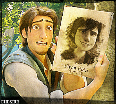 Young and Old Flynn Rider