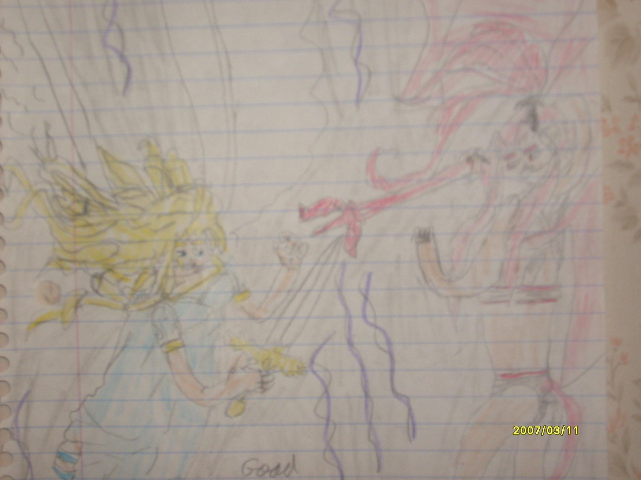 angel vs.devil