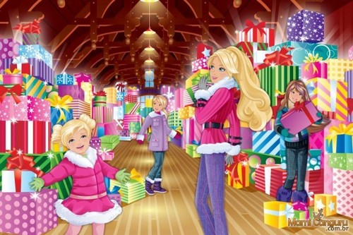 Barbie Movies Images Barbie Perfect Christmas Wallpaper